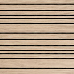 Linear acoustic panel